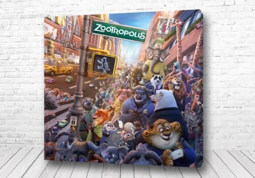 Постер город Зверополис