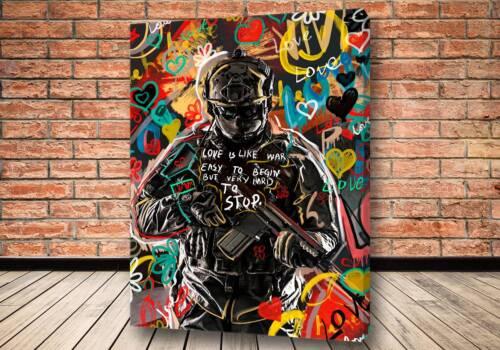Картина Make love not war - Criss Bellini