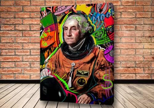 Картина Vandalised George - Criss Bellini