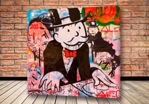 Картина Богатый капиталист - Alec Monopoly