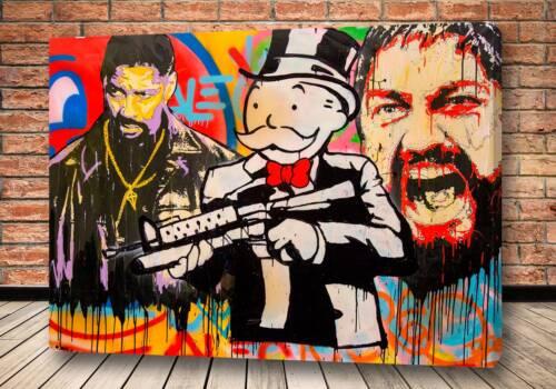 Картина суровый бизнес – Alec Monopoly