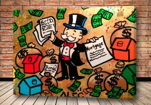 Картина золотой договор – Alec Monopoly