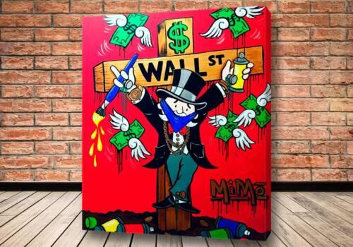 Картина Судьба капиталиста – Alec Monopoly