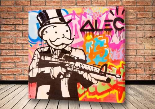 Картина Капиталист гангстер - Alec Monopoly