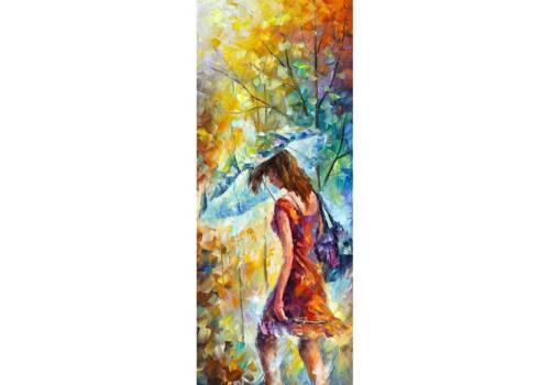 Картина Девушка с зонтиком