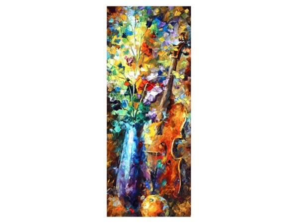 Картина Скрипка в цветах