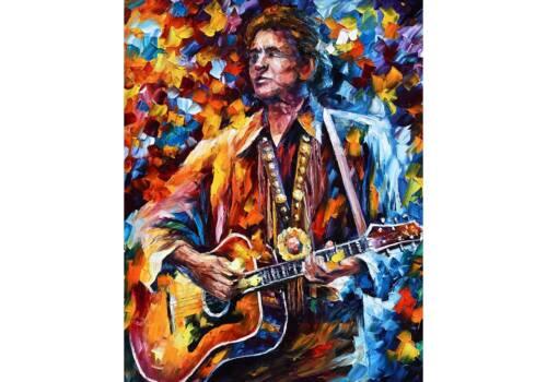 Картина Артист с гитарой