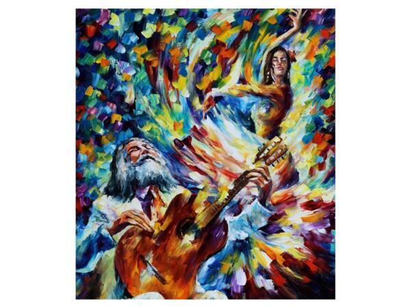 Картина игра и танец