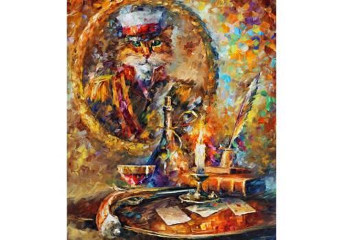 Картина Кот герой