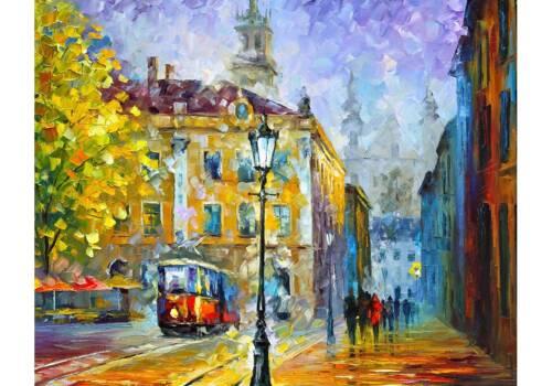 Картина Весенняя улочка