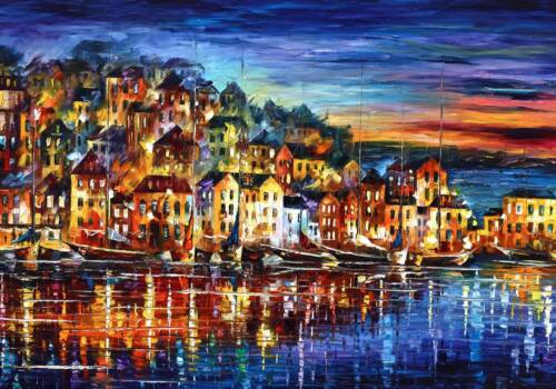 Картина Город с воды
