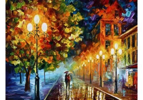 Картина Вечерняя прогулка