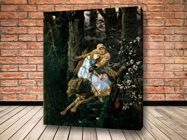 Картина Иван Царевич на сером волке
