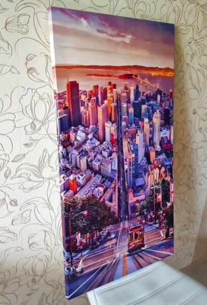 Постер спуск в Сан-Франциско